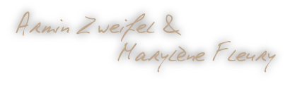 Signature Armin et Marylène