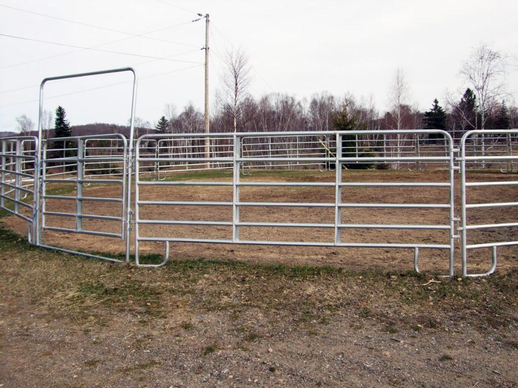 Barrières galvanisées