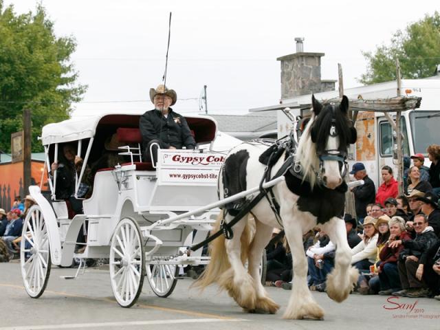 Parade - Festival Western de St-Tite 2010 - Crédit photo : Sandra Fortier
