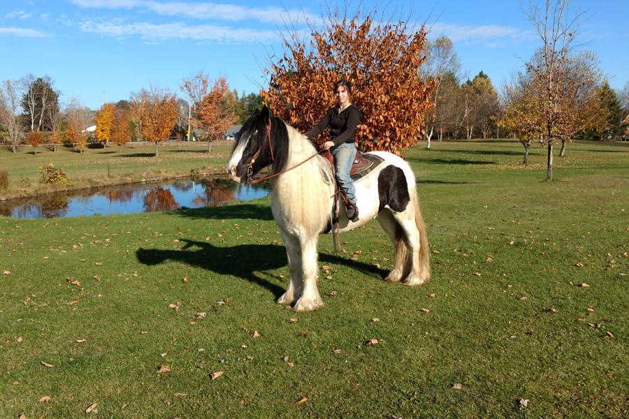 Marylène Fleury et Nom du cheval